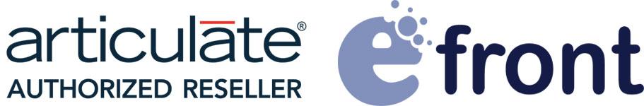 Articulate Reseller, eFront Partner
